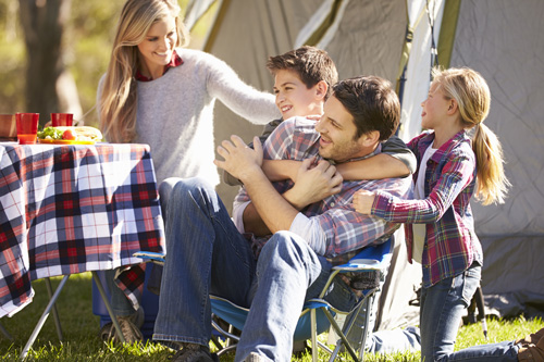 top ten sober activities for families - family camping - twin lakes recovery center