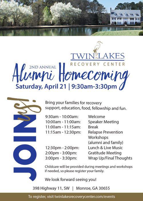 Twin Lakes 2nd Annual Alumni Homecoming - April 2018