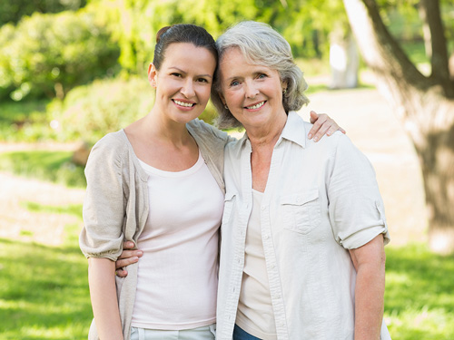 Dealing With a Parent in Recovery - mother and daughter