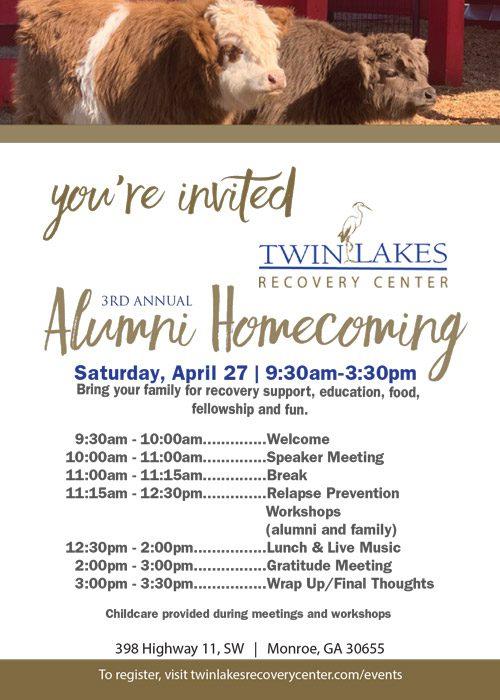2019 Alumni Homecoming - Saturday, April 27, 2019