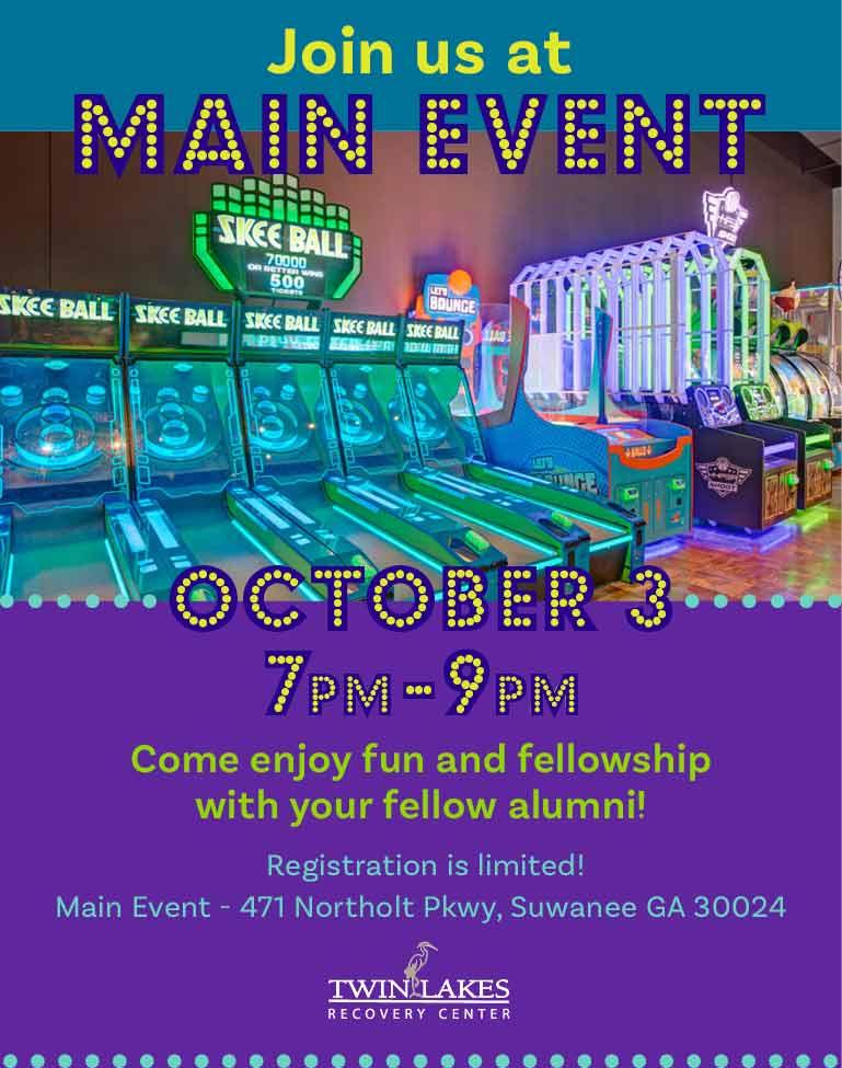 """Main Event"" event for alumni October 3, 2020"