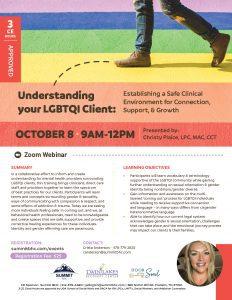 Webinar - Understanding LGBTQI-Flyer