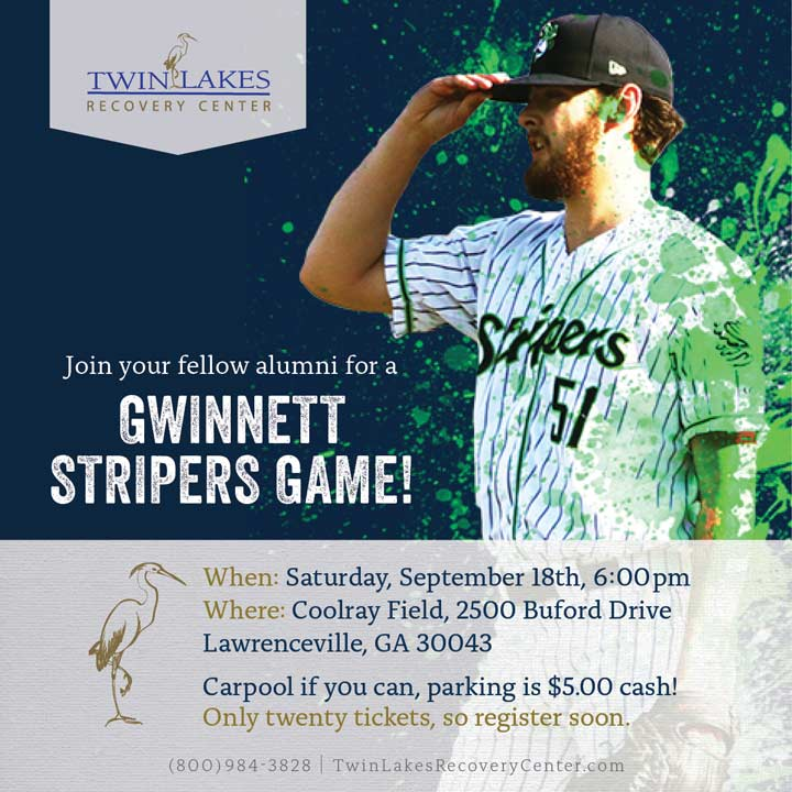 Alumni Night at the Stripers - September alumni event - TLRC